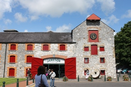 Jameson Whiskey :: Old Warehouse, now start for tours