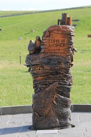 Cliffs of Moher :: Entrance Sculpture