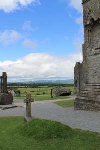 Looking out over Cashel