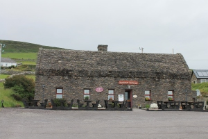 A restaurant across from the fort