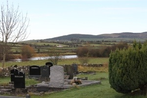 Graveyard in Newcastle, County Tipperary