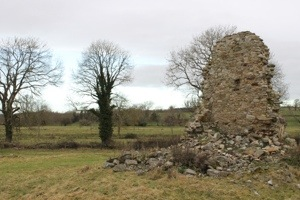 Remnant of a manor house