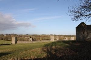 Kells Priory; from St. Kieran's Church