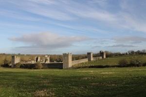 Kells Priory; from bridge