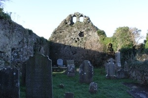 Molough Abbey :: Inside the Church