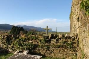 Molough Abbey :: Outside & Looking towards Knockmealdown Mountains
