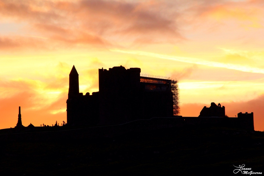 Rock of Cashel Sunrise