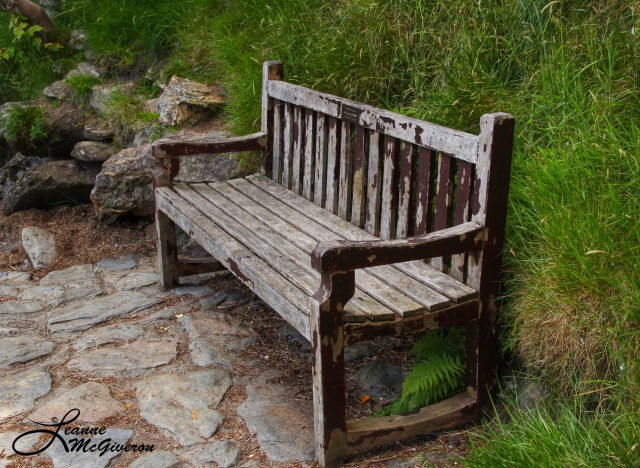 Weathered at Upper Lake, Glendalough, County Wicklow