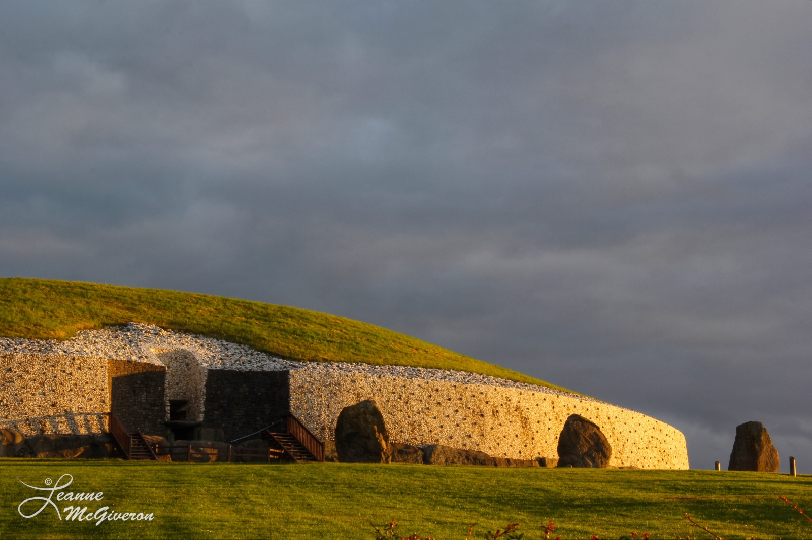 Summer Solstice Sunrise at Newgrange, County Meath