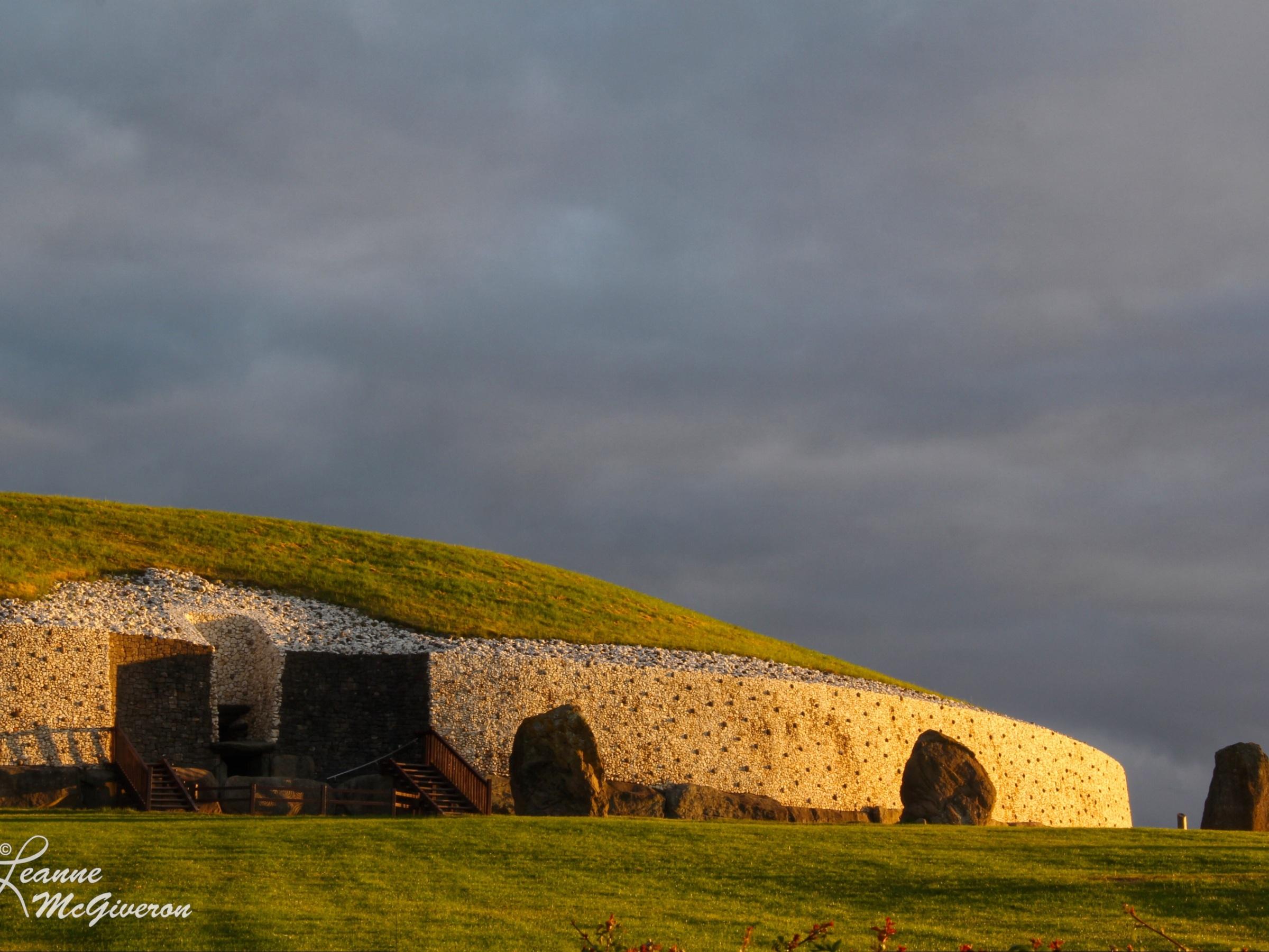 Summer Solstice Sunrise at Newgrange, County Meath