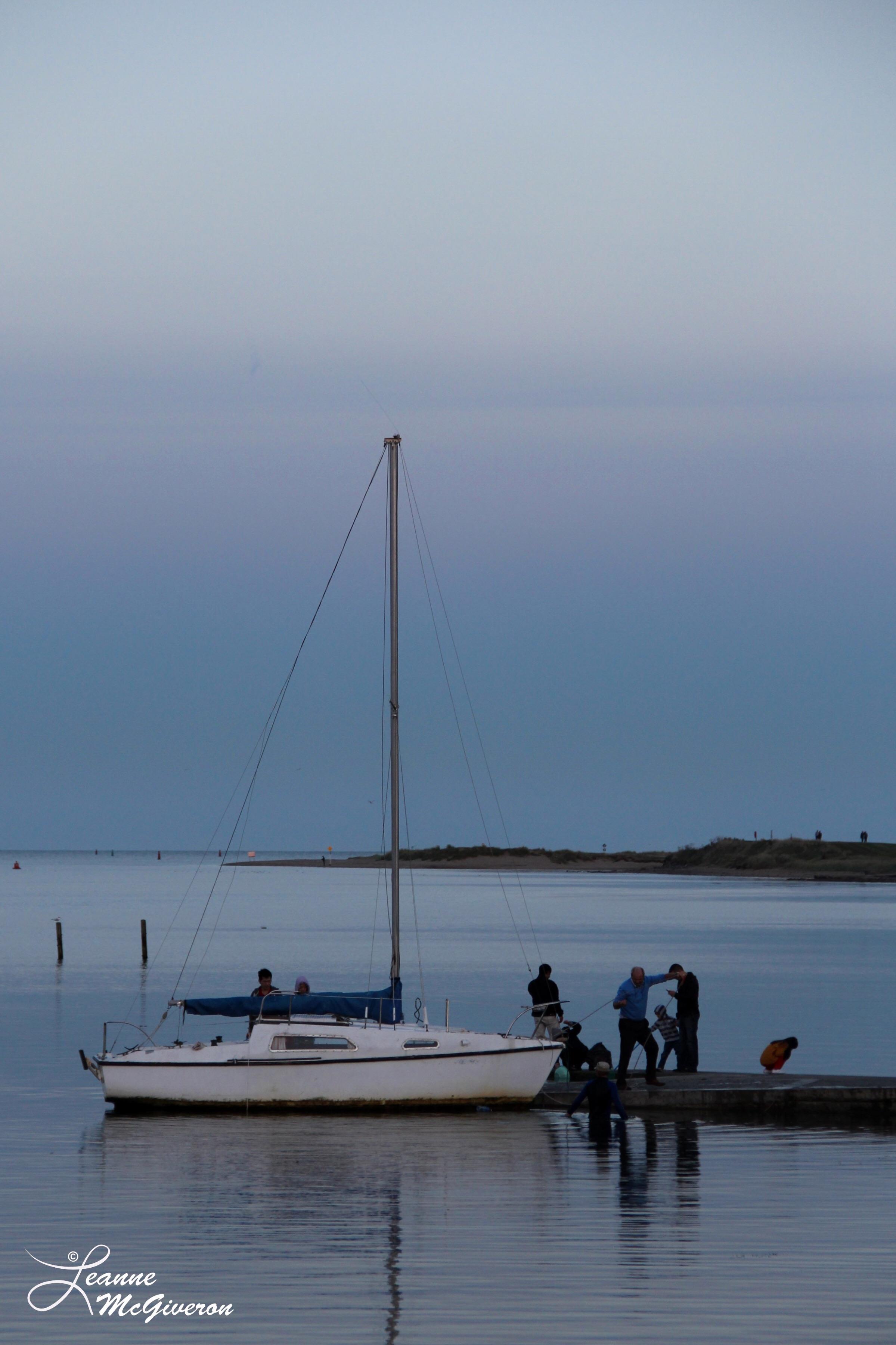After an Evening Sail, Malahide Harbour, County Dublin