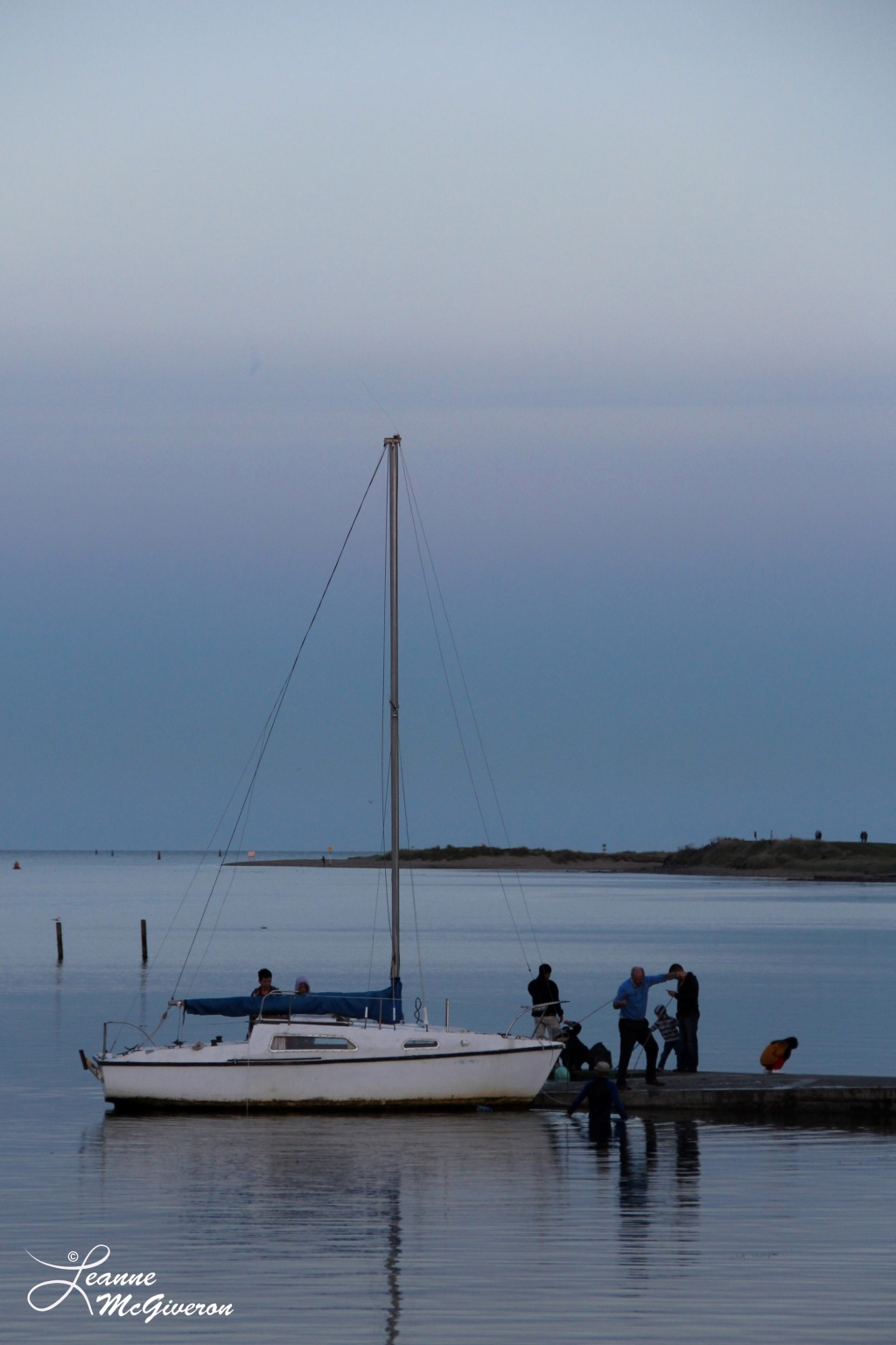 After an Evening Sail, Malahide Harbour, County Dublin