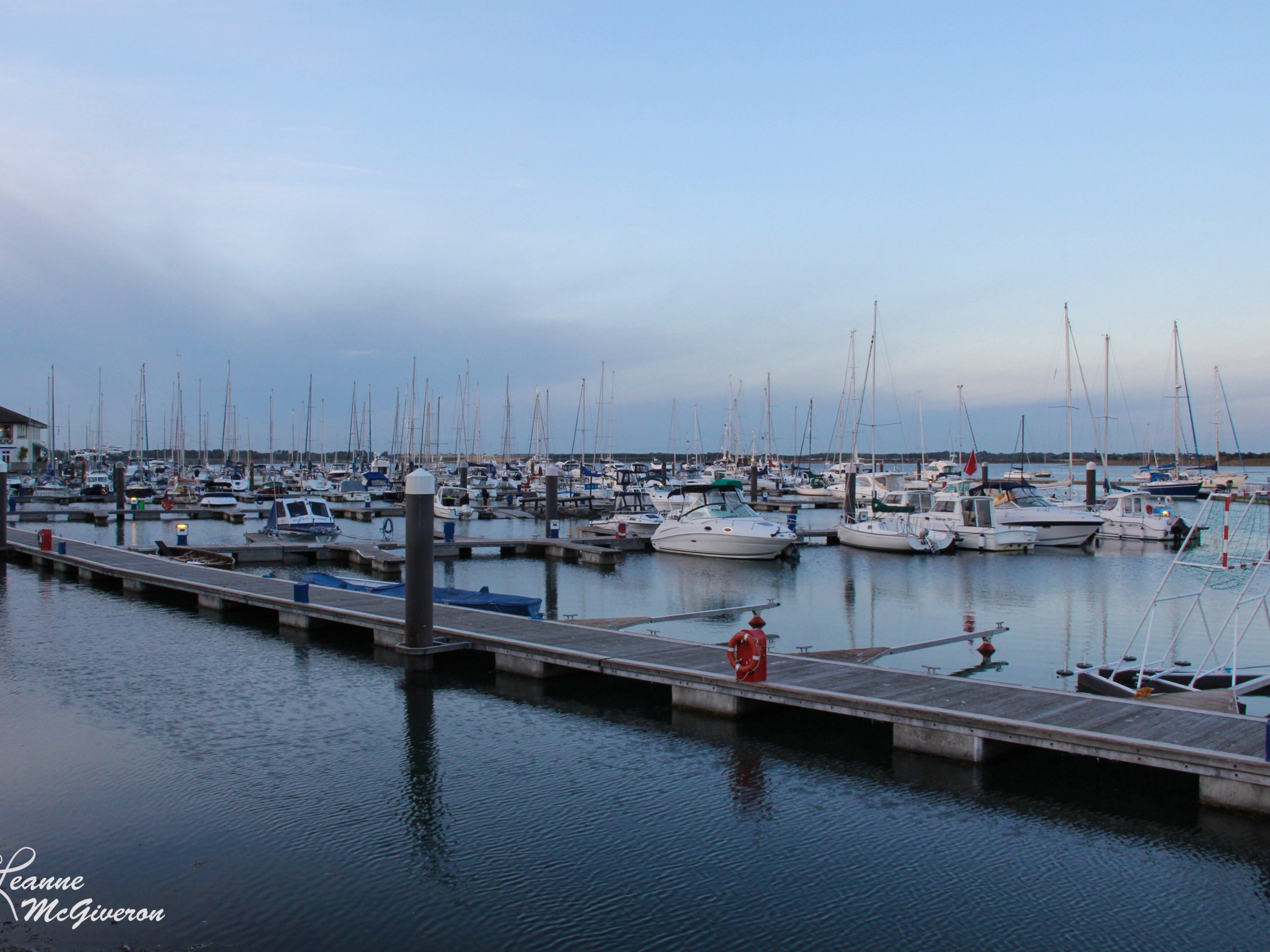 Malahide Harbour at Dusk, County Dublin