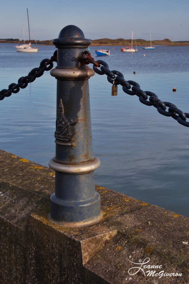 Love Lock, Malahide Harbour, County Dublin