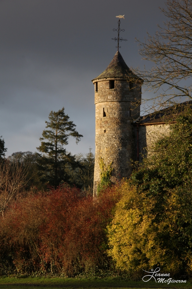 Cahir Castle on a December Afternoon