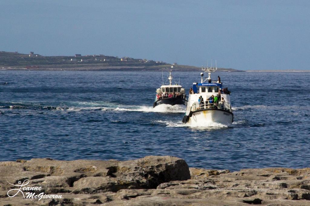 Arrivals, Doolin Pier, County Clare