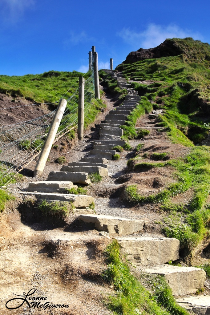 What Goes Down ... Must Go Up, Cliffs Of Moher, County Clare