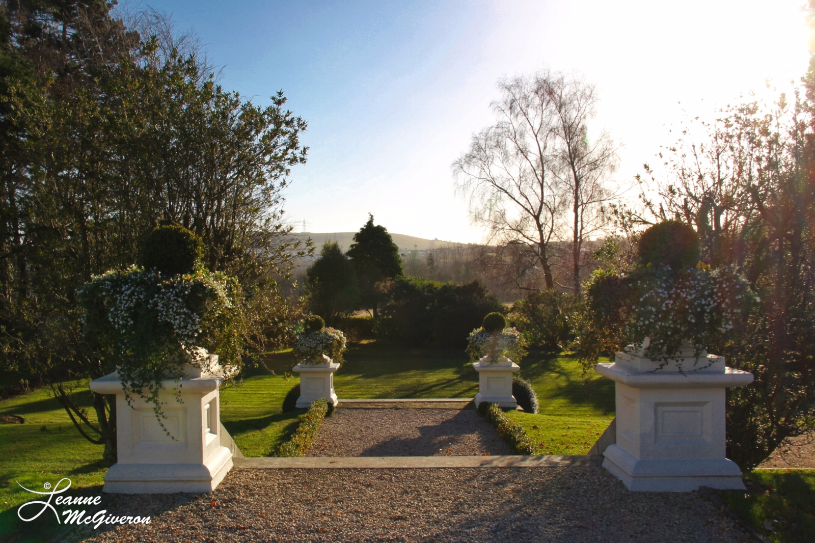 Tinakilly Country House Garden Stairs