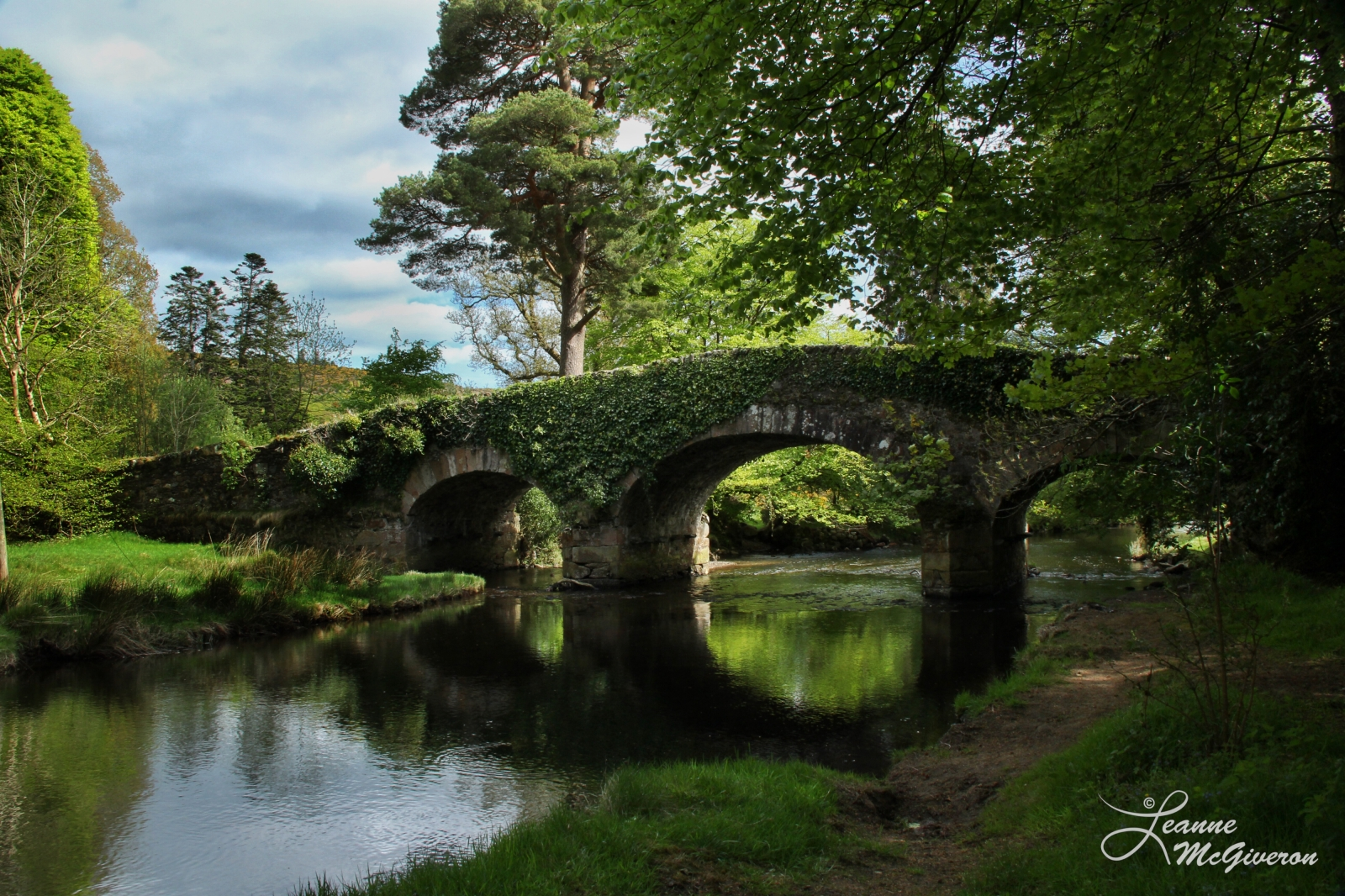 Derrybawn Bridge, Laragh, County Wicklow