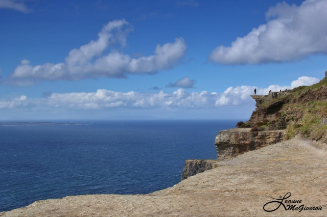 the Edge, Cliffs of Moher, County Clare