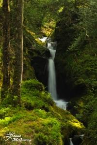 Poulnass Waterfall, Glendalough, County Wicklow