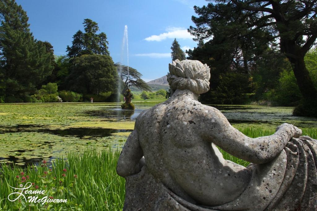 Triton Lake, Powerscourt Estate, Enniskerry, County Wicklow