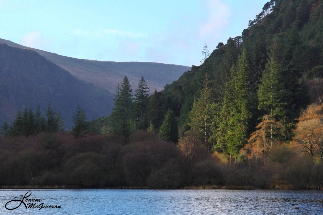Lower Lake, Glendalough, County Wicklow